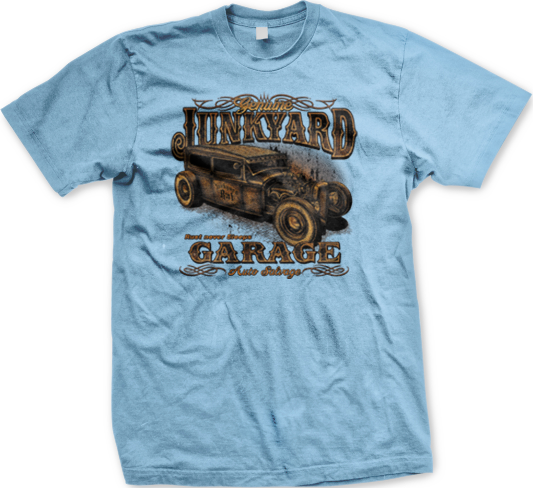 Lunkyard Garage Auto Salvage Hotrod Classic Car Racing