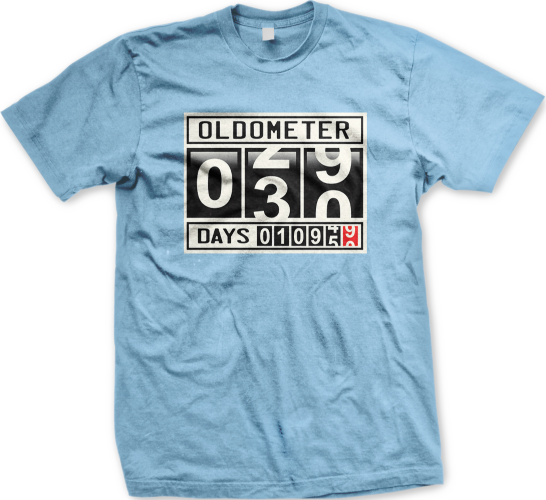 Oldometer 30 Years Old Age Birthday 10,960 Days Funny Juniors T-shirt