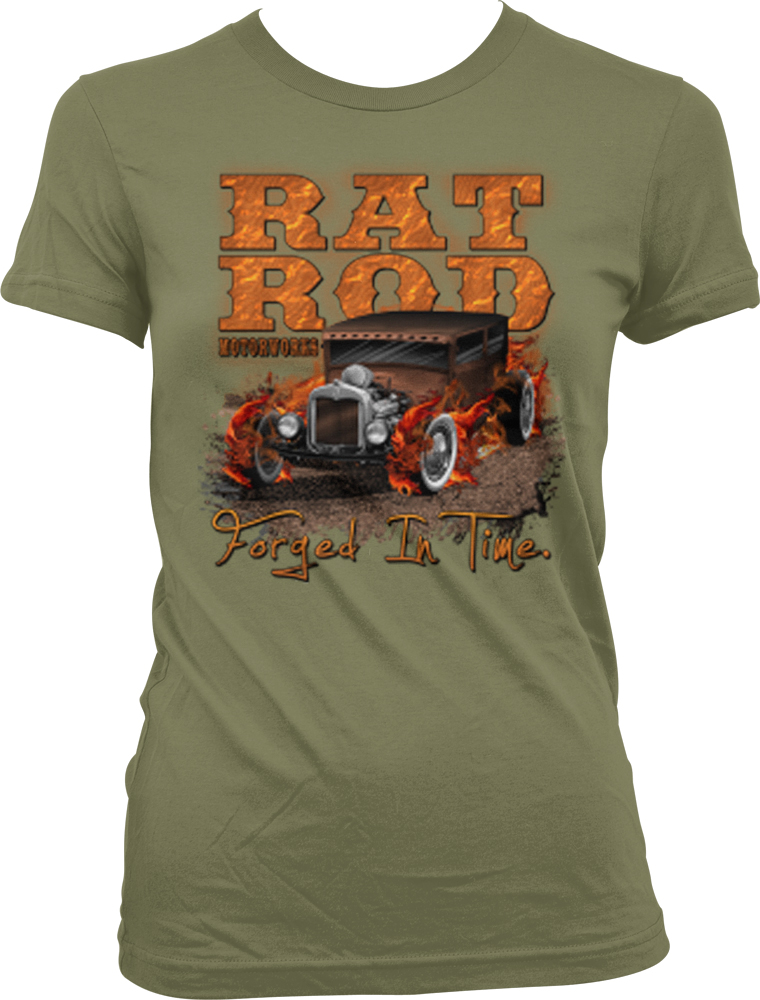 Rat Rod Motorworks Forged In Time Hot Rod Vintage Car