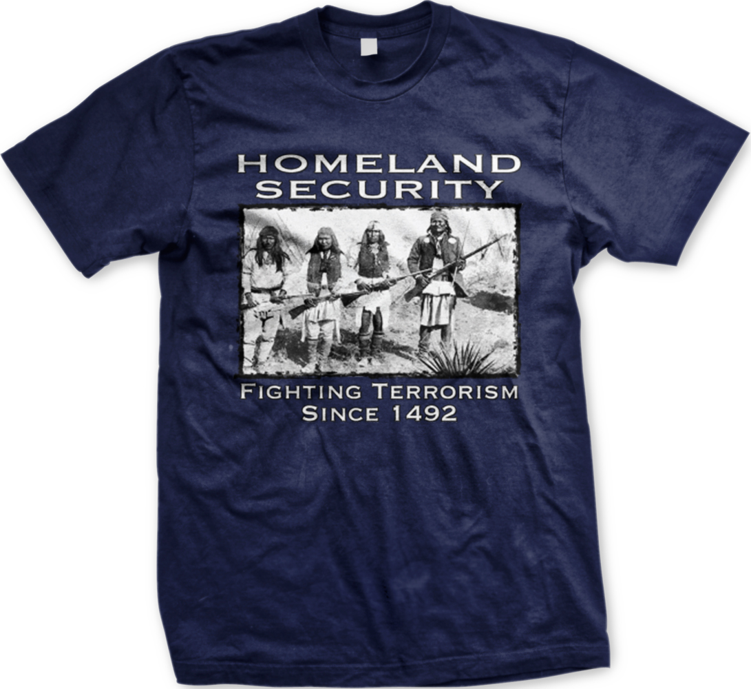 Homeland Security Fighting Terrorism Native Americans Mens ...