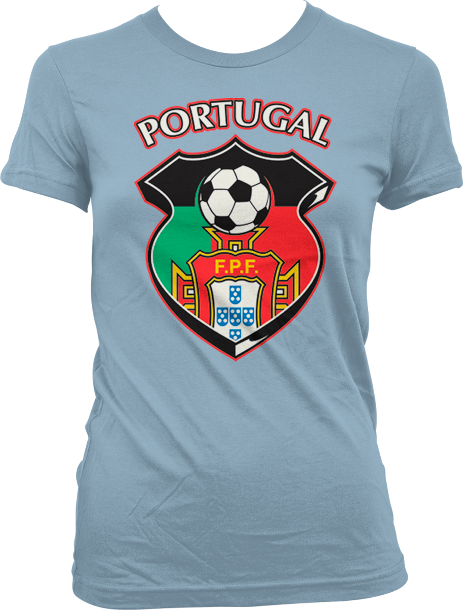 portugal shield portuguese flag crest soccer olympics juniors t shirt ebay. Black Bedroom Furniture Sets. Home Design Ideas