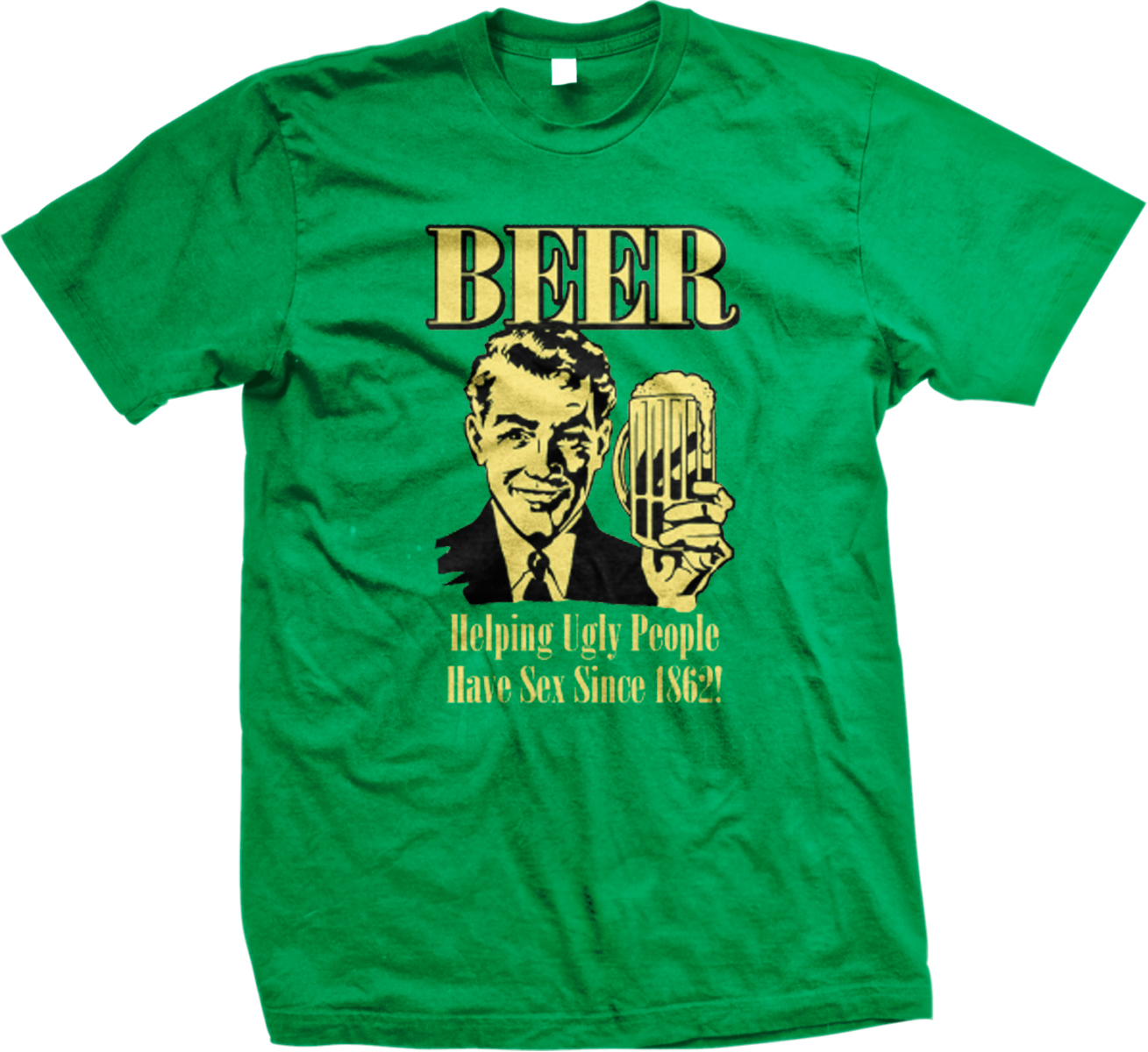 Details about Beer Helping Ugly People Have Sex Drinking Alcohol Funny ...: http://www.ebay.com/itm/like/351748356887?var=620684935128