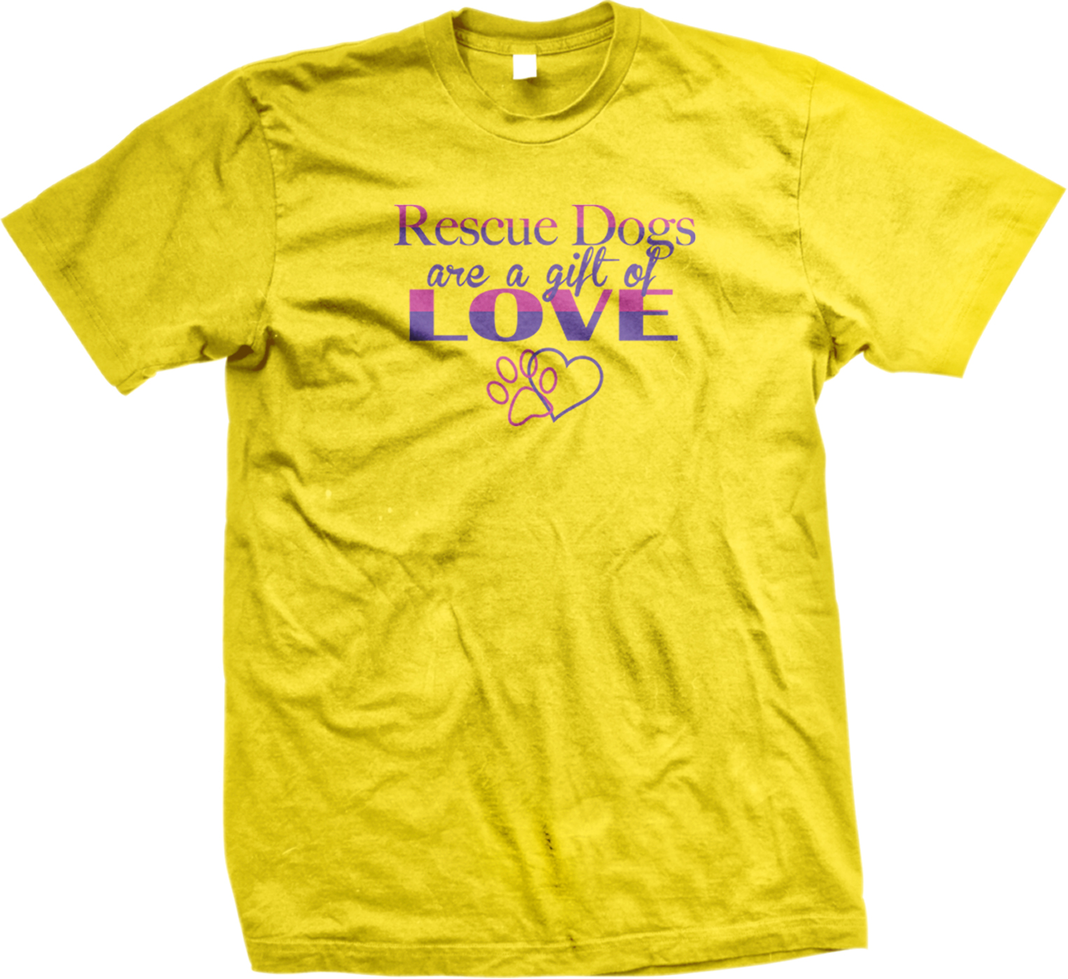 I Love My Dog Schnauzer Animal Lover T Shirt Design T: Rescue Dogs Are A Gift Of Love Heart Paw Pets Animals