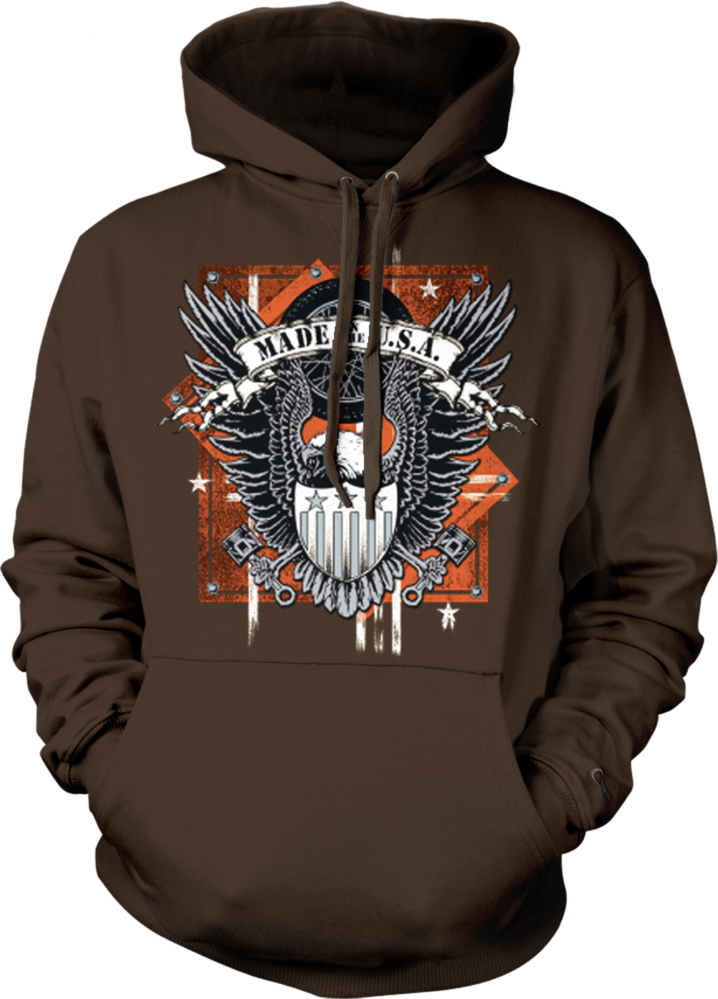 Hoodie made in usa
