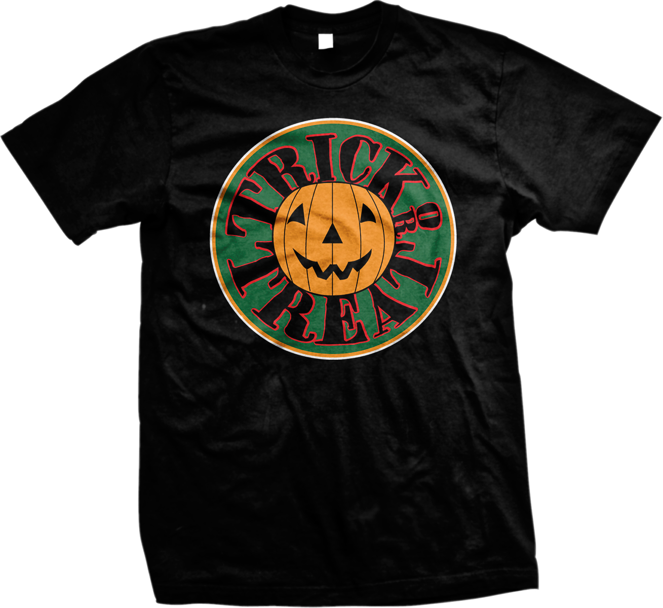 Trick-Or-Treat-Haloween-Pumpkin-October-Holiday-Mens-T-shirt miniature 13
